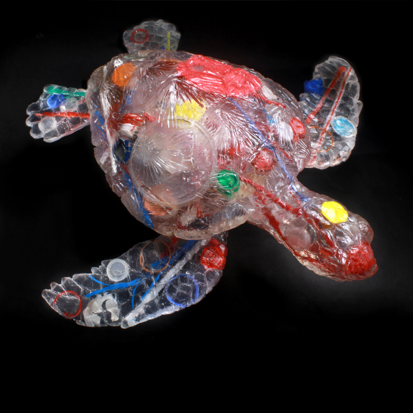 Feral Plastic Sea Turtle: Disposable Drinks